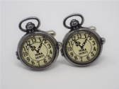 UNCLE ALBERT'S CUFF LINKS ( STEAM PUNK & THE HOUR OF DEATH )